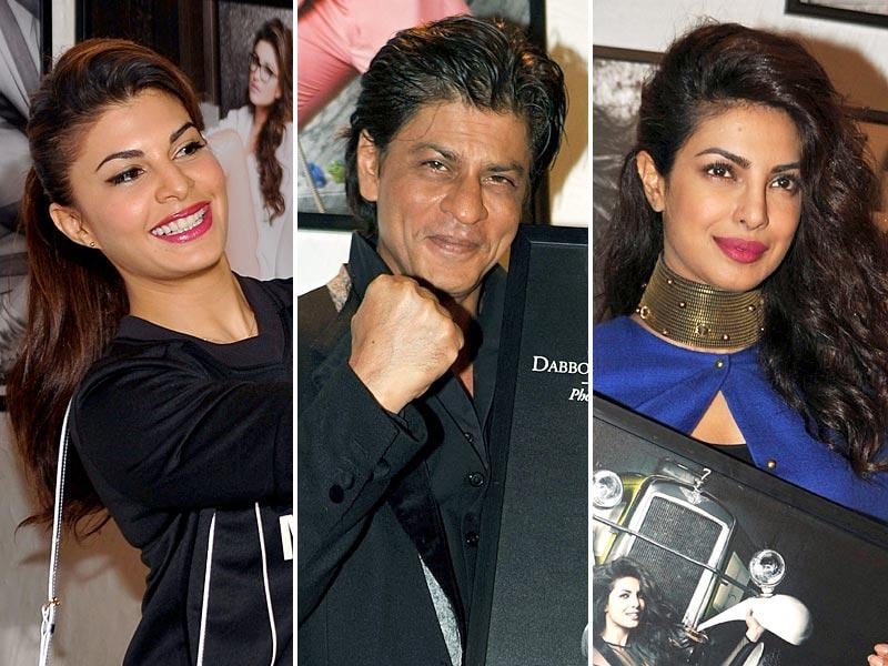 B-Town celebs were at their stylish best during the launch of ace photographer Dabboo Ratnani's calendar. Take a look! (Photos: AFP)