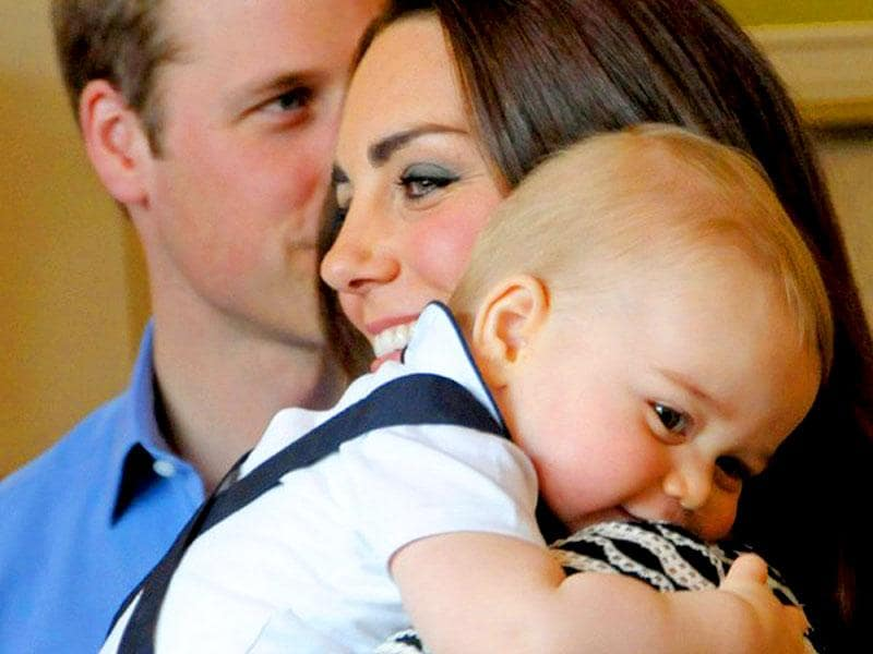 Kate claims it's her favourite photo with nine-month-old Prince George from their royal tour to New Zealand and Australia.