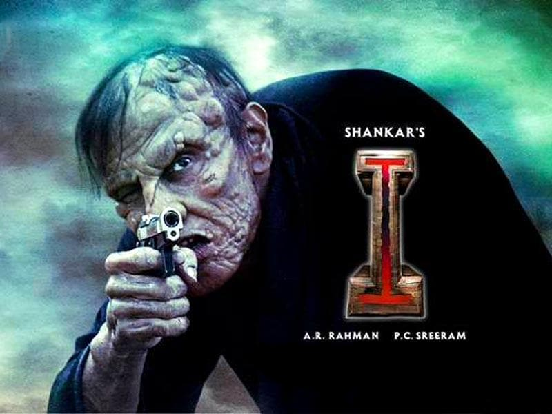 Vikram's character Lingesan is modelled on Arnold Schwarzenegger though for most part of the film, Vikram carries the hunchbacked look. (I.VikramMovie/Facebook)