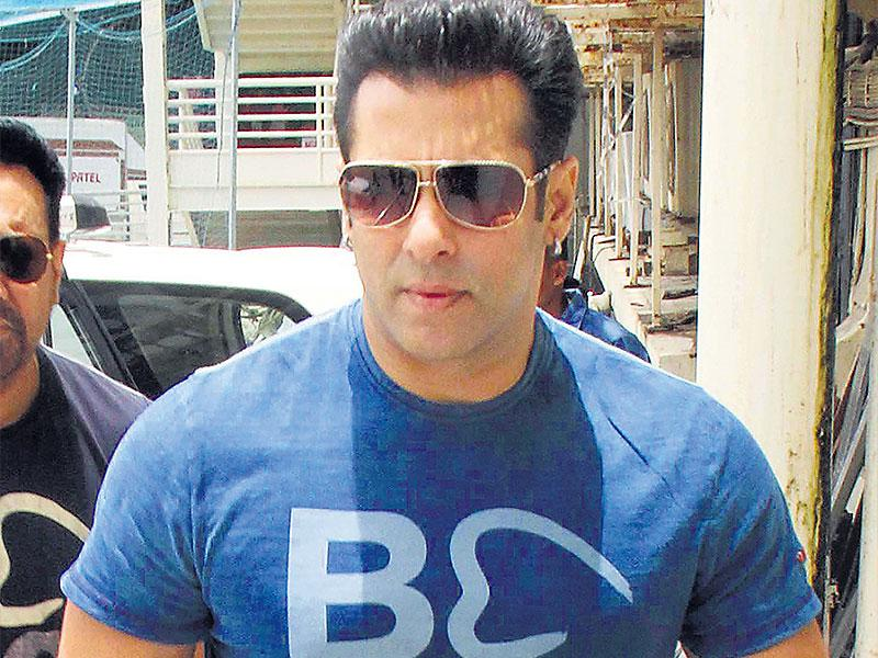 Salman Khan organises free medical camps. He also runs an NGO called Being Human. (Photo: Yogen Shah)