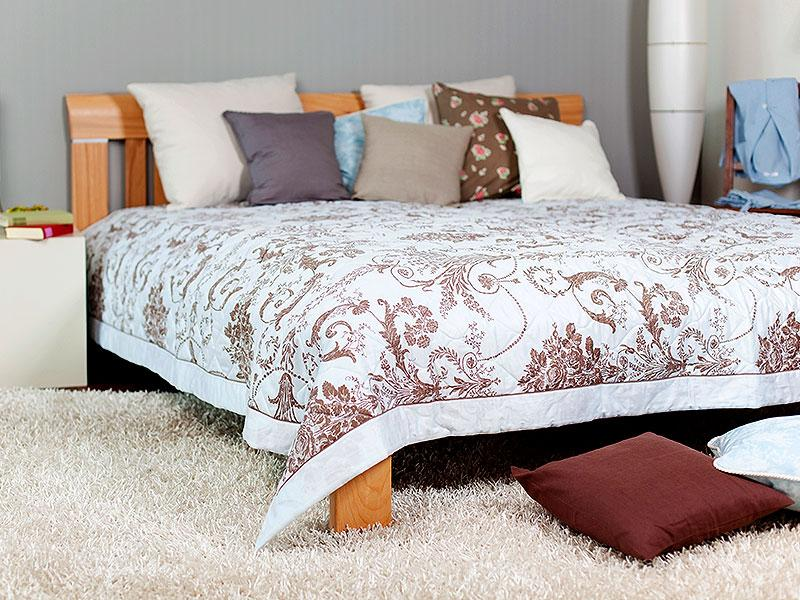 Proper use of rugs, blankets: Place all heavy rugs and blankets in living and bedrooms. Try covering a bare floor with a thick rug so as to make that space look warmer and comfortable.