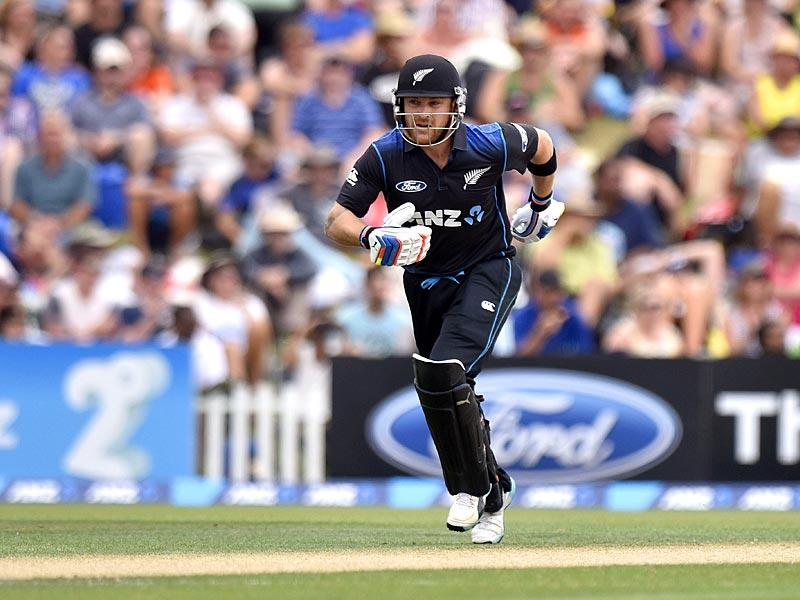 Destructive batsman Brendon McCullum will lead New Zealand in to the World Cup. The co-hosts are pegged to be one of the dark horses of the tournament. (AFP Photo)