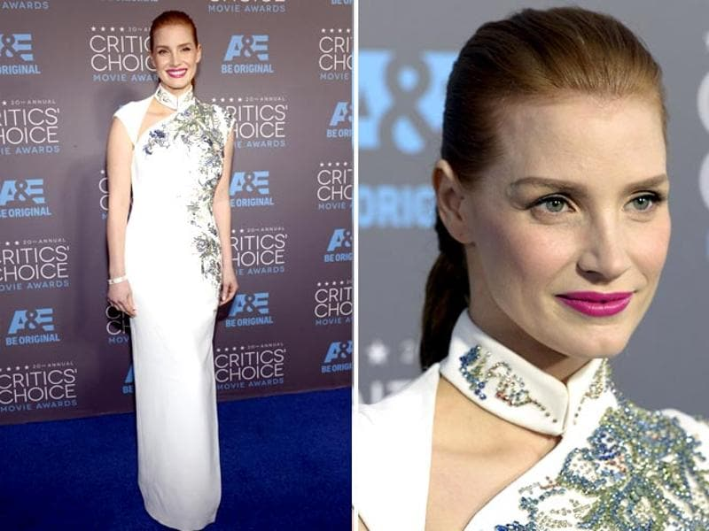 Interstellar star Jessica Chastain. (Agencies)