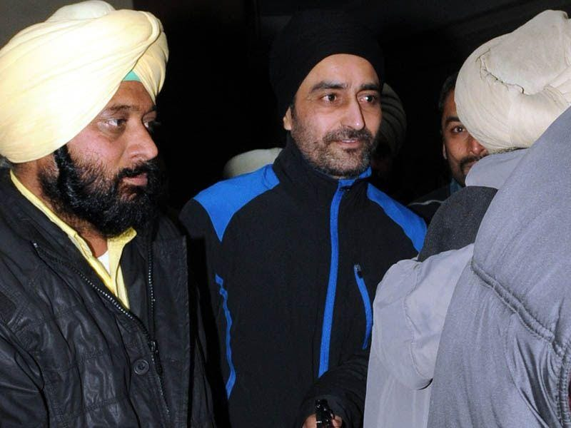 Former Punjab CM Beant Singh assassin Jagtar Singh Tara in Patiala district court. HT Photo