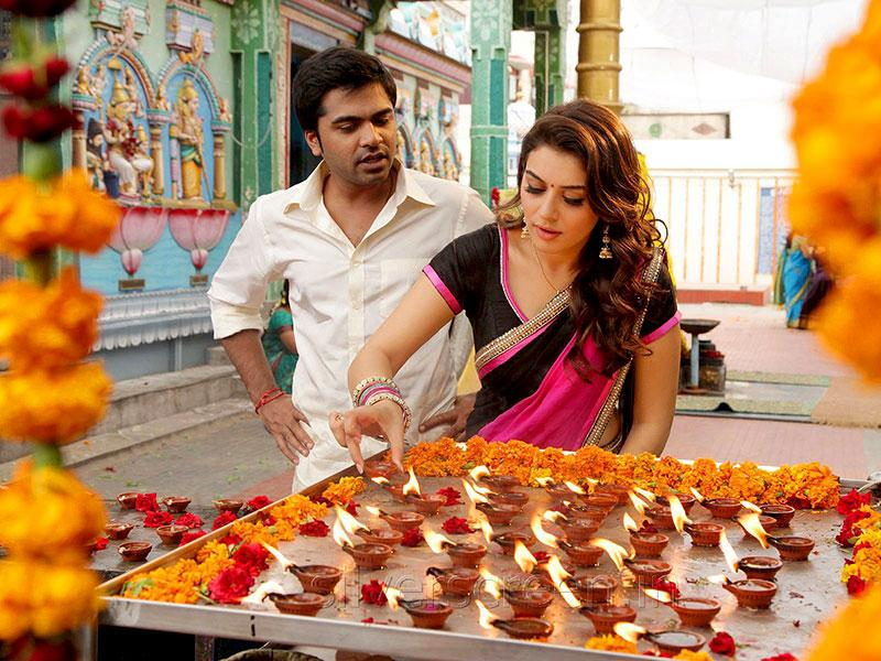There has been a lot of speculation in the media that Silambarasan and Nayantara would be cast opposite each other. As per reports, the actor finally laid these rumours to rest stating that Hansika would play the female lead. (VaaluFilm/Facebook)