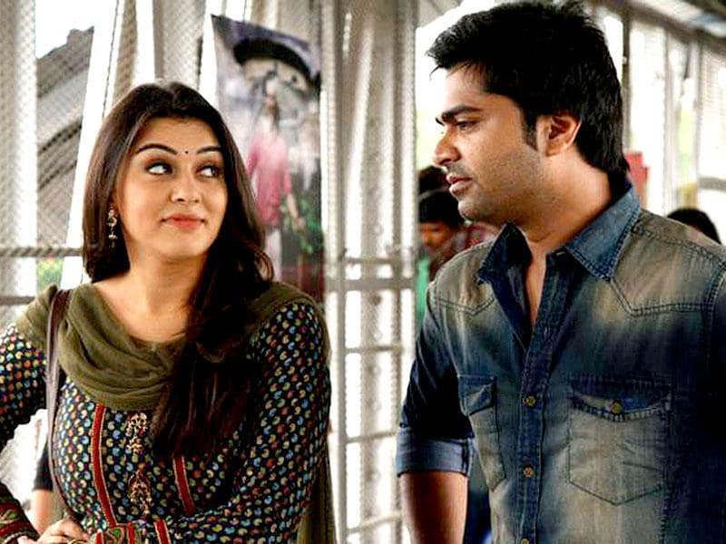 Vaalu is an upcoming Tamil film starring Silambarasan and Hansika Motwani in lead roles. It is directed by debutante Vijay Chander. (VaaluFilm/Facebook)
