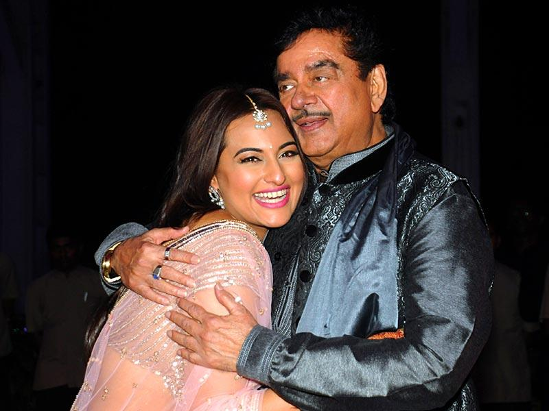 Sonakshi Sinha with father Shatrughan.
