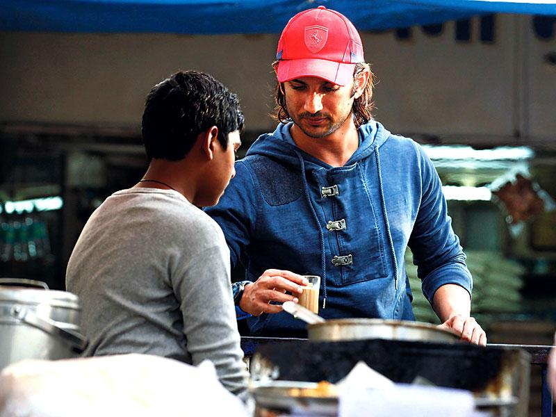 As he turns 29 on January 21, Sushant Singh Rajput revisits a tea stall in Andheri (W) that the actor used to frequent when he was waiting for his big break and doing theatre. (Photo: Vidya Subramanian/HT)