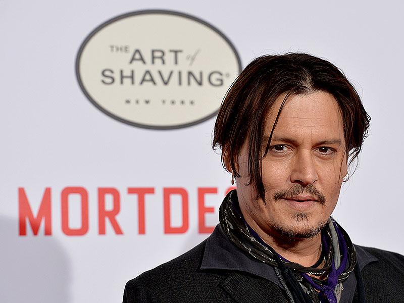 Pirates of the Carribbean star Johnny Depp. (AFP Photo)