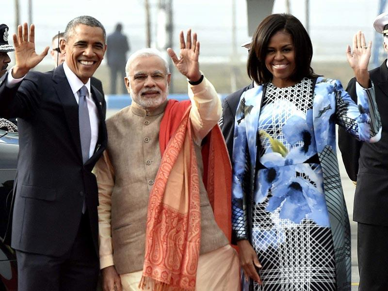 Barack Obama will be the first US president present at Republic Day parade as a chief guest. (HT Photo/Vipin Kumar)