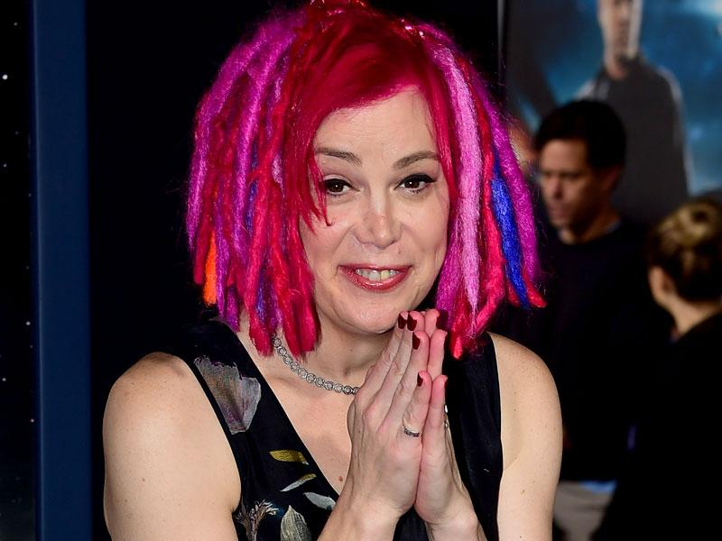 Director, writer and producer of Jupiter Ascending Lana Wachowski poses at the premiere of the film.(AFP)