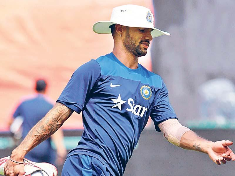 Shikhar Dhawan: According to reports on the internet, this stylish lefthanded batsman got his first tattoo done at the age of 15! He has five tattoos, one each on both of his arms, two on his back and one on his leg.