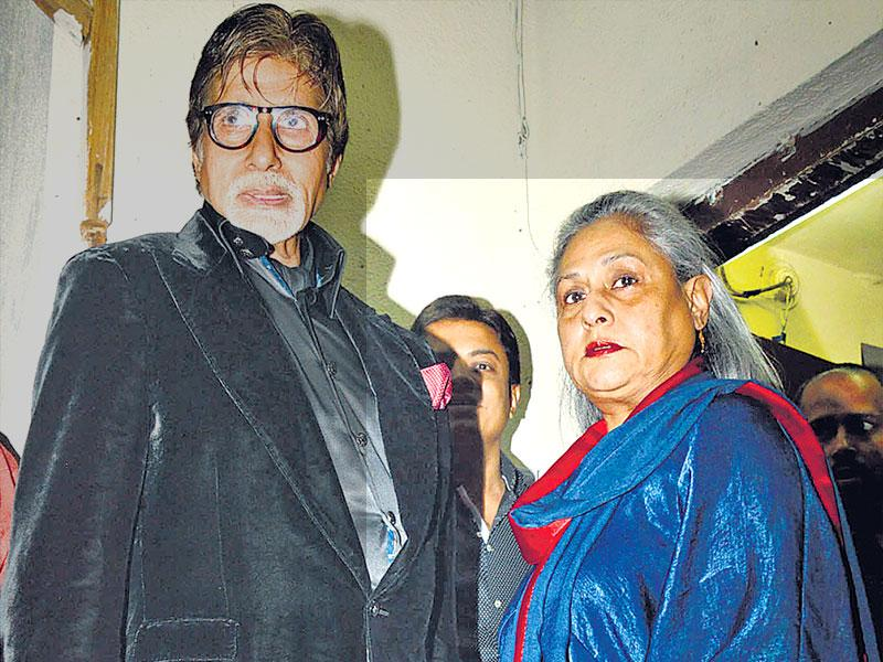 A special screening of Shamitabh was attended by Amitabh Bachchan and his immediate family on Thursday. The veteran actor walked in with his wife Jaya Bachchan, son Abhishek Bachchan and daughter-in-law Aishwarya Rai Bachchan.