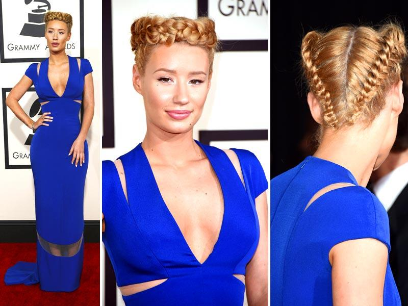 Rapper Iggy Azalea attends The 57th Annual GRAMMY Awards at the STAPLES Center in Los Angeles. (Reuters)