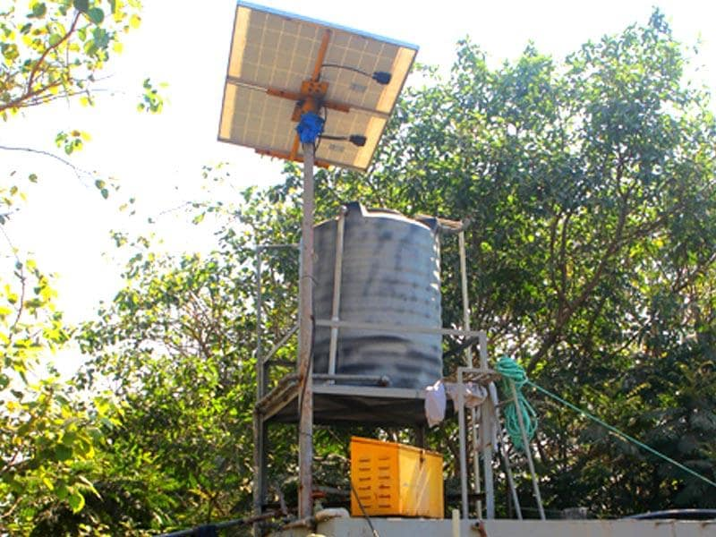 A BMC official won the Indira Gandhi Paryavaran Puraskar for designing a public toilet that has a solar power power plant, compost pit, dry waste,centre and a garden in the premises at Triratna Prerna Mandal Khotwadi, Santacruz in Mumbai. (Satish Bate/HT photo)