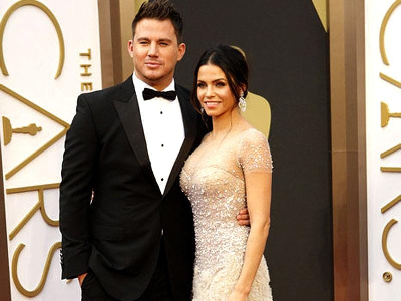 Channing Tatum and Jenna Dewan-Tatum looked stunning at the red carpet of The Oscars in 2013