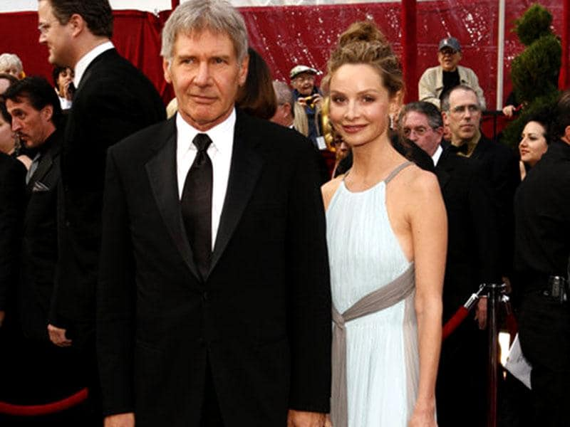 Harrison Ford and Calista Flockhart appeared together at the red carpet of 80th Academy Awards, in 2007