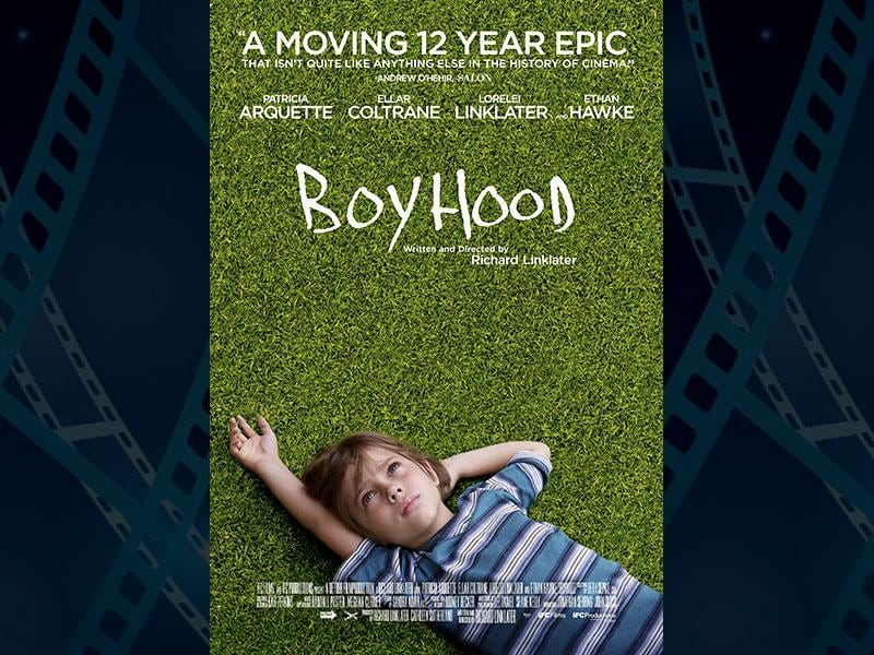 Boyhood, directed by Richard Linklater and starring Ellar Coltrane, Ethan Hawke and Patricia Arquette has 6 nominations. (Photo: IMDb)