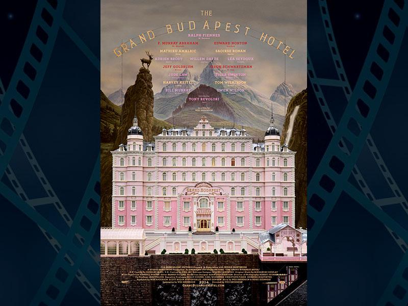 The Grand Budapest Hotel, directed by Wes Anderson and starring Ralph Fiennes ties for the most nominations with 9 nods. (Photo: IMDb)