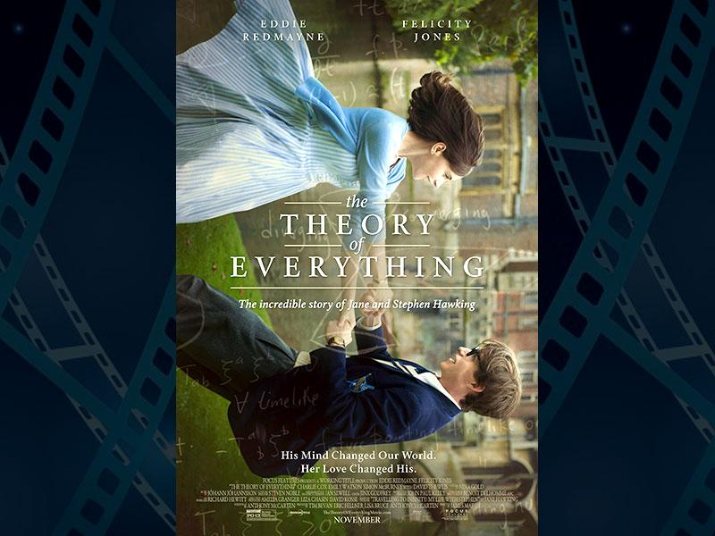 The Theory of Everything, directed by James Marsh and starring Eddie Redmayne and Felicity Jones comes in with 5 nominations. (Photo: IMDb)