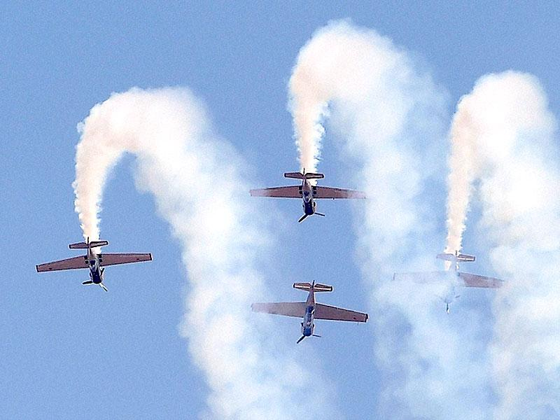 Russia's aerobatic display team