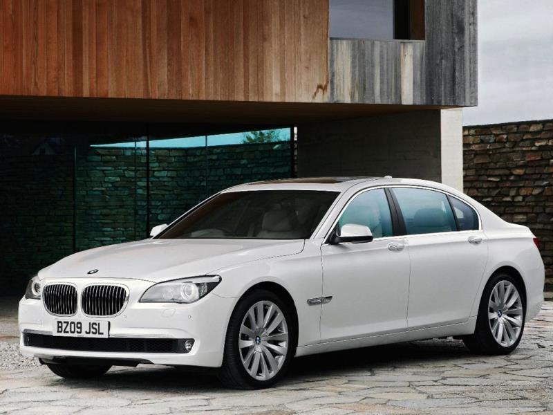 The BMW 760Li 5.21m : BMW offers an 'Individual' version of its flagship executive sedan complete with a list of bespoke detailing options to rival anything in a Bentley catalogue. Recently a client asked for all of the interior wood trim to be taken from the trees in his garden. Photo:AFP