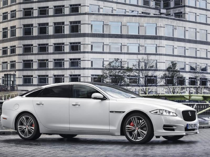 The Jaguar XJ LWB Supersport 5.25m : The XJ is the perfect car for people who can't decide whether out-and-out performance and out-and-out luxury is their top priority. Jaguar's flagship model is expected to get an interior and exterior makeover at the Geneva Motor Show in March. Photo:AFP