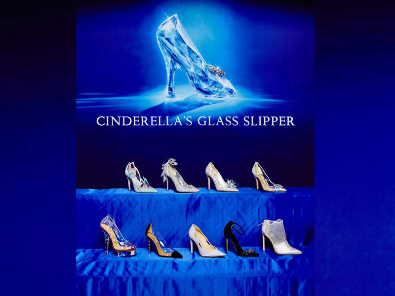 Ahead of the opening of Kenneth Branagh's Cinderella in the US on March 13, Disney invited nine fashion designers to present a new take on the fairy tale heroine's glass slipper. The resulting shoes were revealed by Swarovski at a Cinderella-themed exhibit at the Berlin Film Festival. Here's a look at Cinderella's glass slipper, reinterpreted by nine luxury shoe designers. (Photos: AFP)