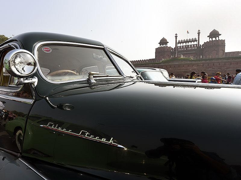 Vintage cars from across the world were showcased in the 5th 21 Gunsalute International Vintage Car rally in Delhi. (HT Photo/Subrata Biswas)