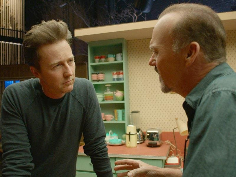 Edward Norton has been nominated for his character Mike in the film Birdman.