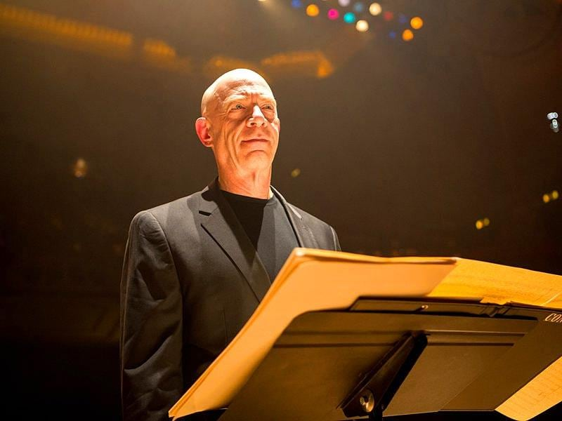 J.K Simmons has been nominated for his role Fletcher in Whiplash.
