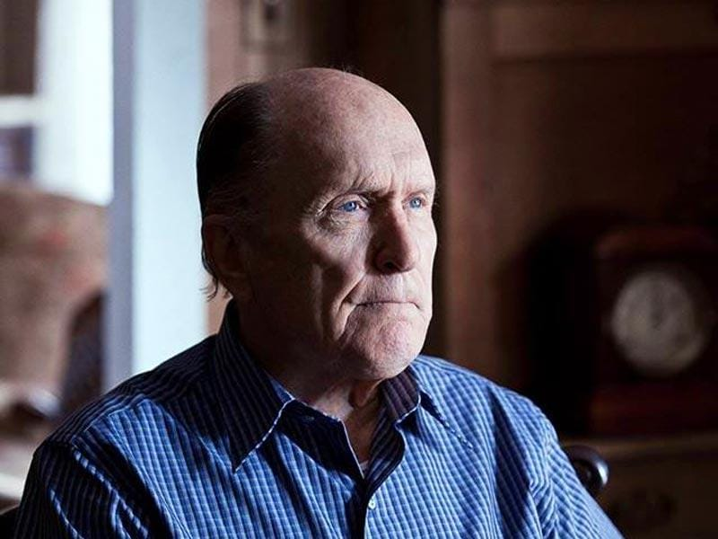 Robert Duvall stands nominated for his role Joseph in The Judge.