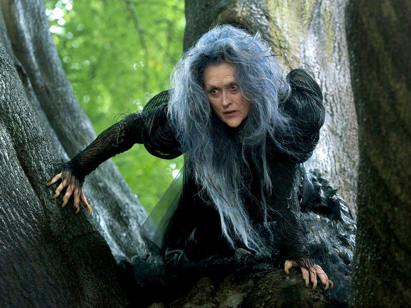 Meryl Streep stands nominated for her role as Witch in Into the World.