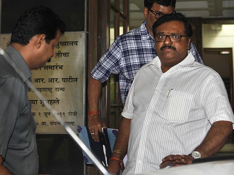 NCP leader Chaggan Bhujbal's nephew Sameer Bhujbal and son Pankaj have been summoned for an inquiry by the ACB for alleged irregularities and malpractices in construction of Maharashtra Sadan in New Delhi. (Kalpak Pathak/HT photo)