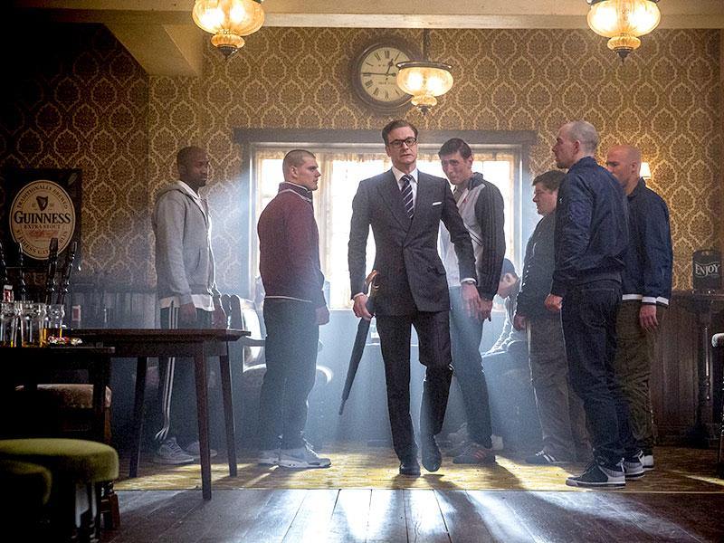 Directed by Matthew Vaughn, Kingsman: The Secret Service hits theatres on February 27.