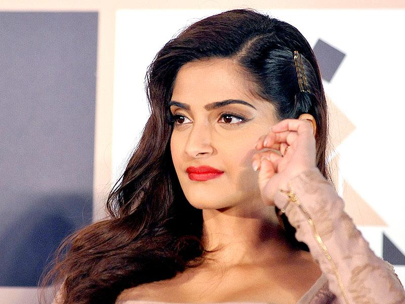 Just when does this end?: Sonam Kapoor at an awards announcement ceremony in Mumbai on February 24, 2015. (AFP Photo)