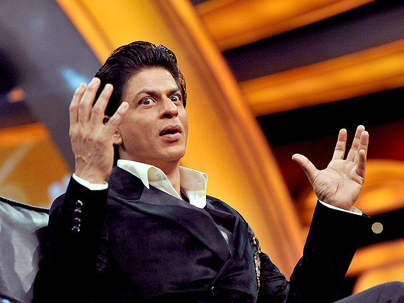 Shah Rukh Khan was the first Indian TV actor who became a superstar in Bollywood. (AFP Photo)