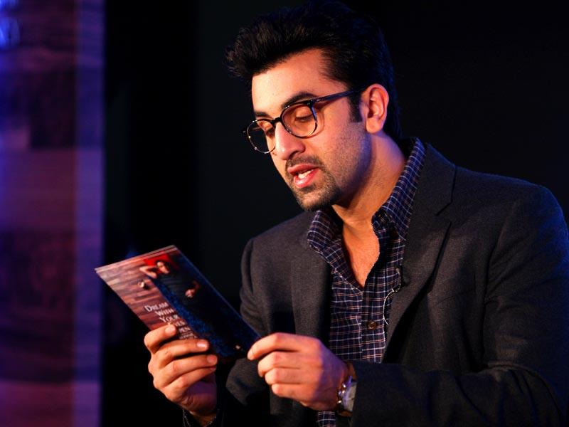 That's a studious Ranbir Kapoor! (AFP Photo)
