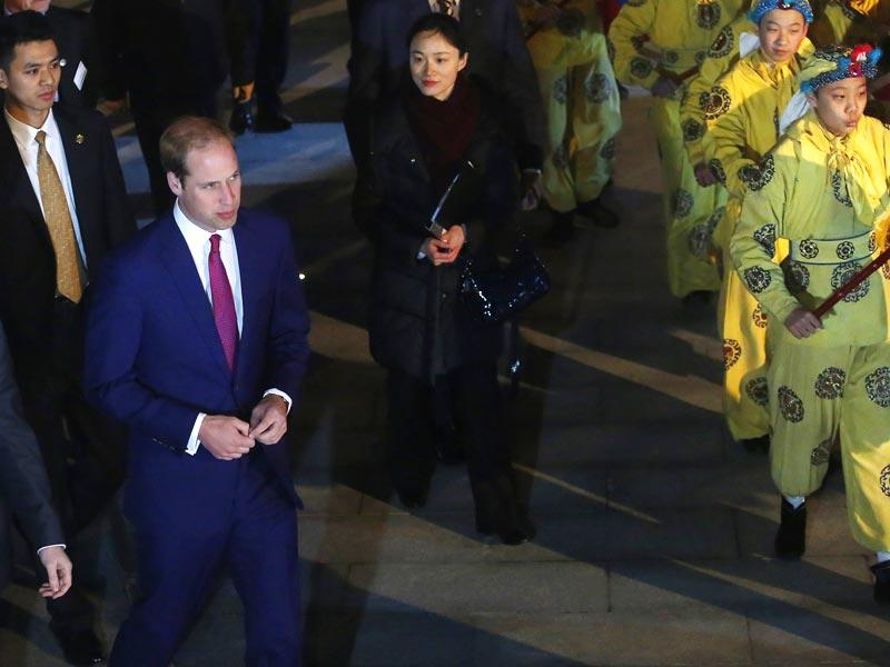 Britain's Prince William attends the opening of the