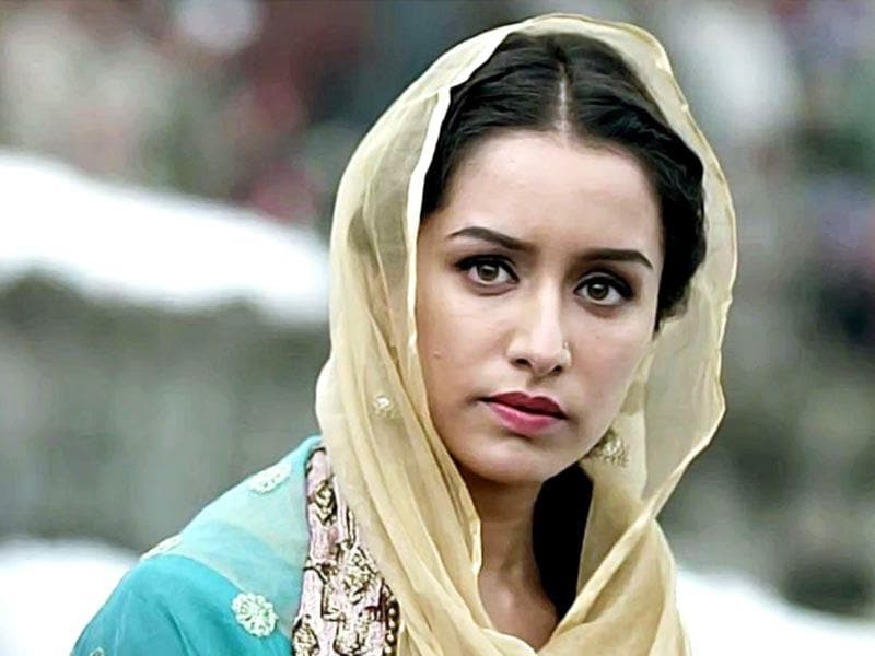 As Shraddha celebrates her 26th birthday on Tuesday, we take a look at her journey in B-town. Haider: Vishal Bhardwaj's adaptation of Hamlet had Shraddha Kapoor playing a young journalist in the valley. One of her most deglam roles, appreciation showered on Shraddha with Haider.