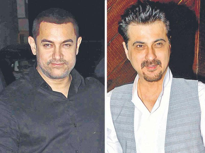 Aamir Khan, Sanjay Kapoor at the event. (Photo: Yogen Shah)
