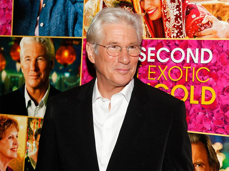 Richard Gere at the premiere of he Second Best Exotic Marigold Hotel. (Reuters)