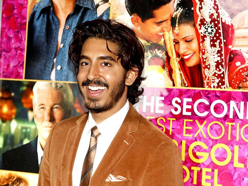 Dev Patel attends the premiere of The Second Best Exotic Marigold Hotel in New York. (AP)