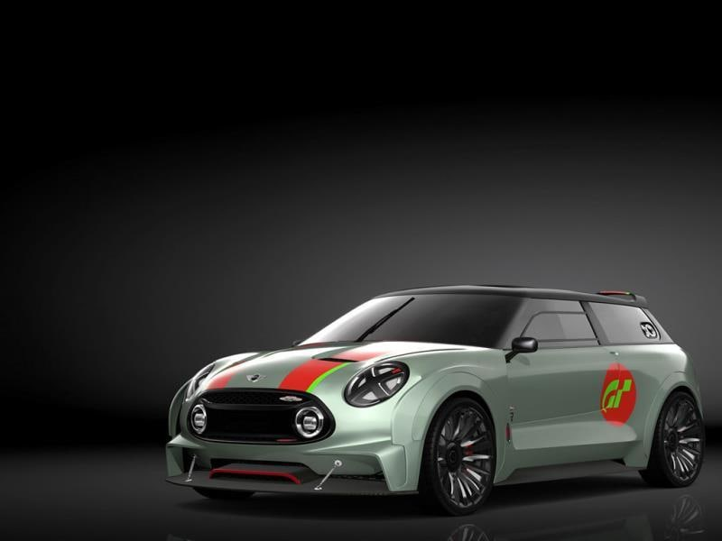 MINI Clubman Vision Gran Turismo : Mini says that the Clubman Vision is what would happen if the normal car was taken and track optimised – so 22-inch rims, a 395hp engine and a 0-100km/h time of 3.5 seconds. And being a Mini, the virtual car, just like the real ones, comes with a host of personalization options. Photo:AFP