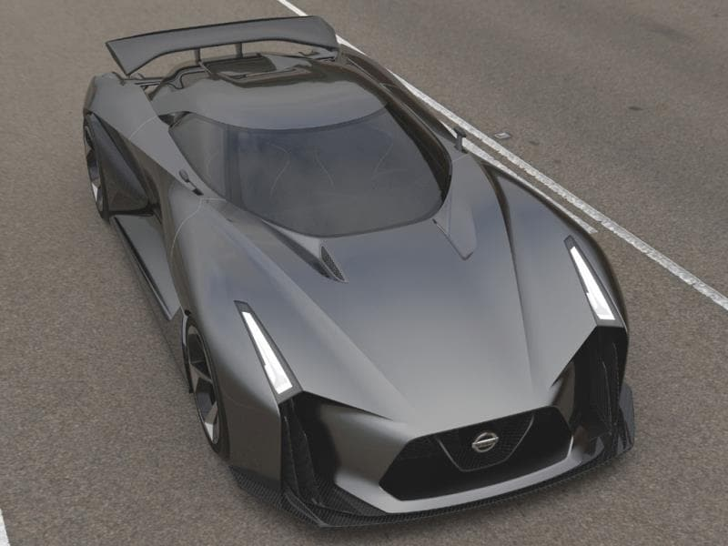 The Nissan Concept 2020 Vision Gran Turismo : When Nissan unveiled its effort it said that this is what a GTR - the company's flagship supercar - could look like in the not too distant future. So expect something very similar on the road before the end of the decade. Photo:AFP