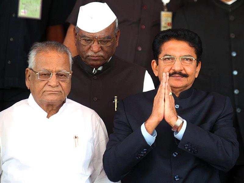 Maharashtra governor C Vidyasagar Rao arrives at the Vidhan Bhavan for the budget session of state legislature in Mumbai. (Kunal Patil/HT photo)