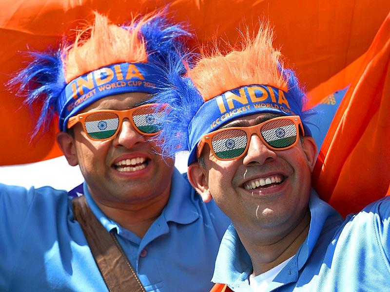 Organisers believe that 70 percent of tickets at the sold-out 42,000-capacity Sydney Cricket Ground have been bought by by India fans. (AFP Photo)