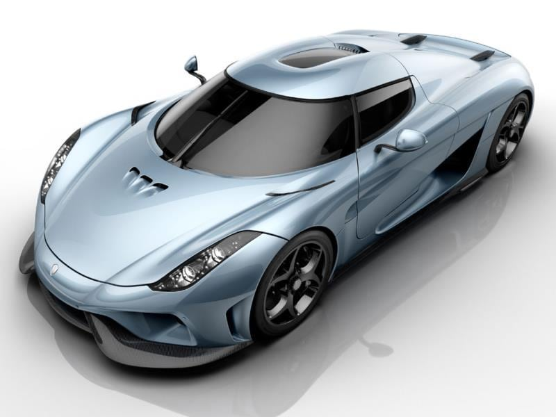 Koenigsegg Regera : Among the most impressive cars in Geneva this week, the Koenigsegg Regera boasts a combined output of 1500hp (from three electric motors and a turbocharged V8) and 0 to 400km/h acceleration in just 20 seconds. This superlative model is produced in a limited edition of just 80 units. Photo:AFP