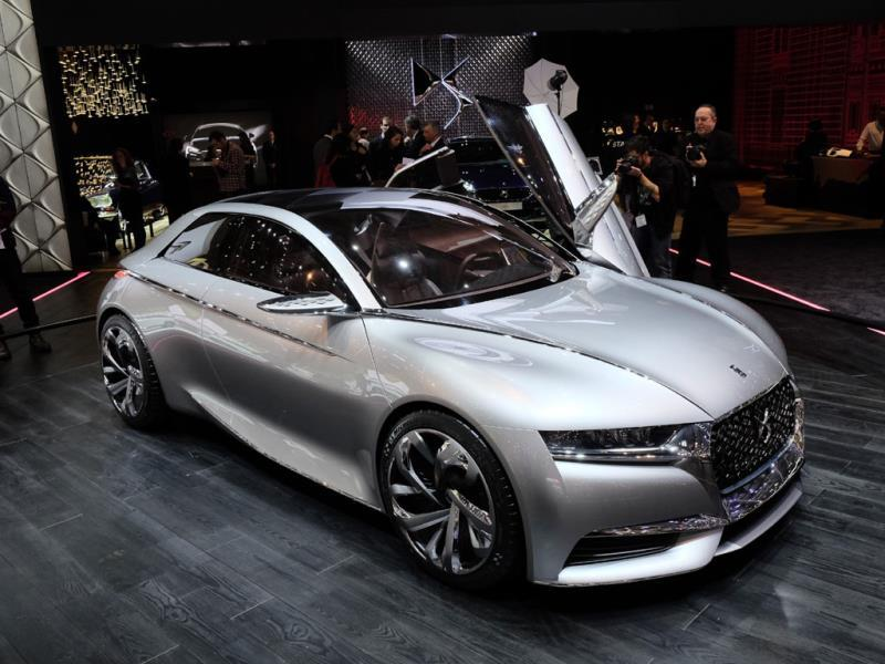 DS Divine : Ok, the Divine made its debut at the Paris autoshow but it still looks just as good six months later. Newly independent brand DS has made it clear that this car is simply a mobile mood board to signpost future design direction. The Divine won't be going into production. That's a huge pity. Photo:AFP