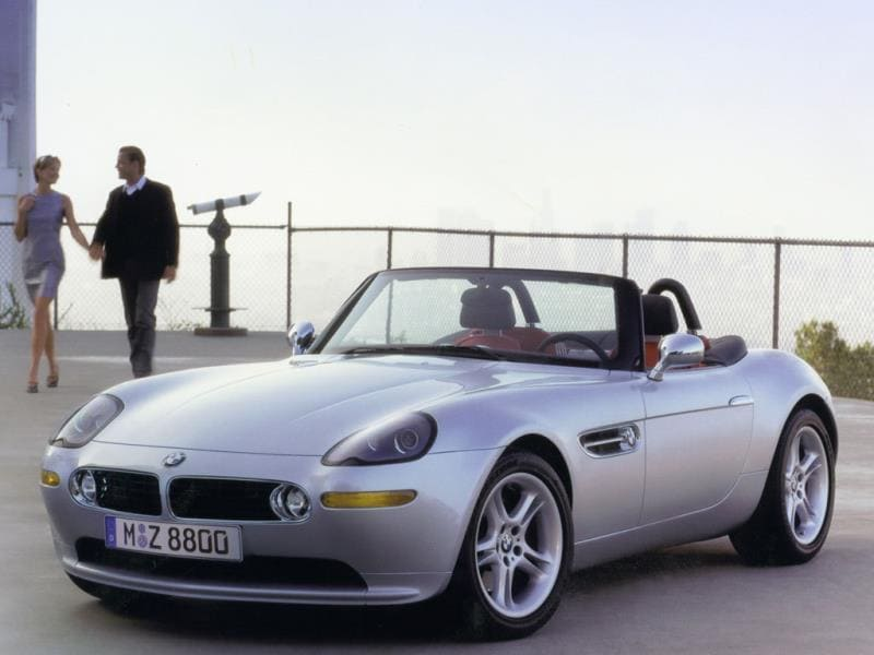 The BMW Z8 1999 : Fisker rose up through the BMW ranks very quickly and the Z8 is the first car to encapsulate the Dane's entire design philosophy in a single exterior. The Z8 was the perfect boulevard cruiser and had a starring role in a Bond film, to boot. The only thing that prevents it from being a timeless classic is that its handling, ride and performance just couldn't measure up to those looks. Photo:AFP